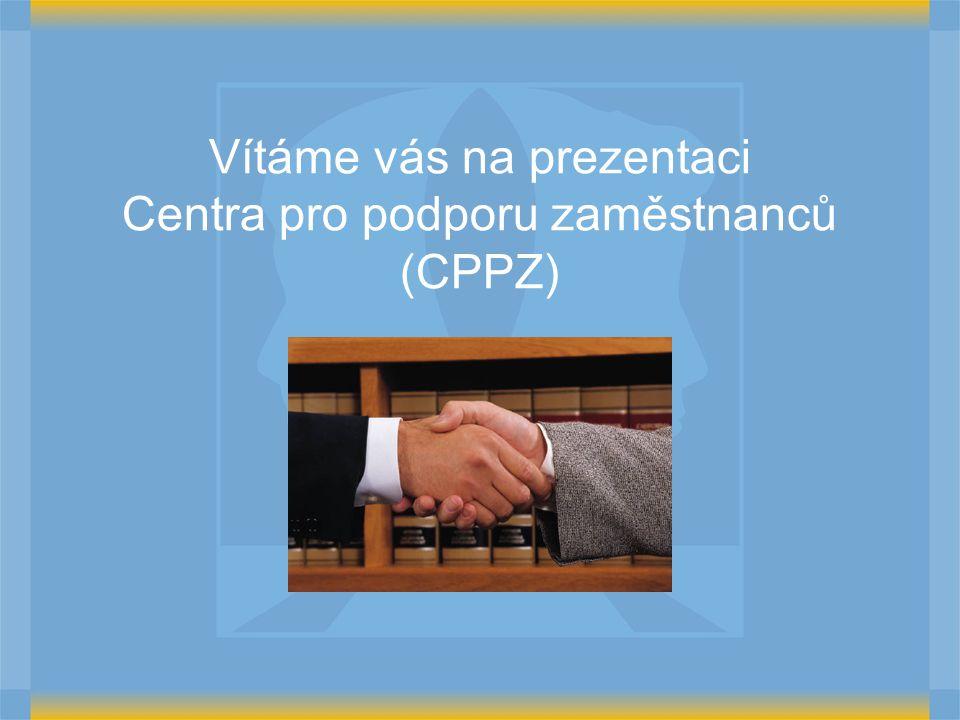 Vítáme vás na prezentaci Centra pro podporu zaměstnanců (CPPZ)