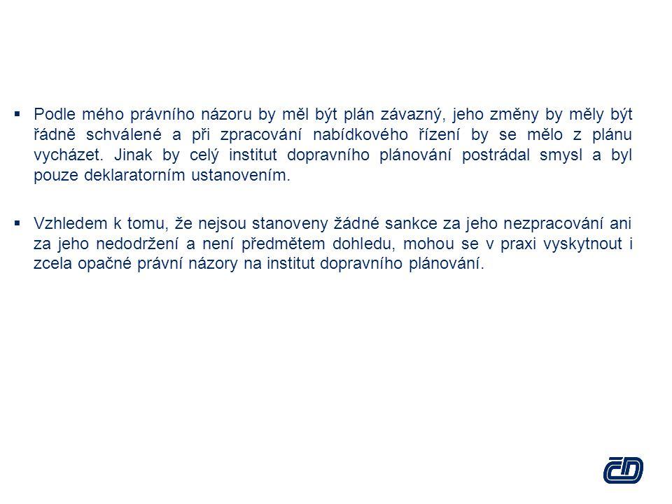 Integrované veřejné služby Integrované veřejné služby jsou podle nařízení (ES) č.