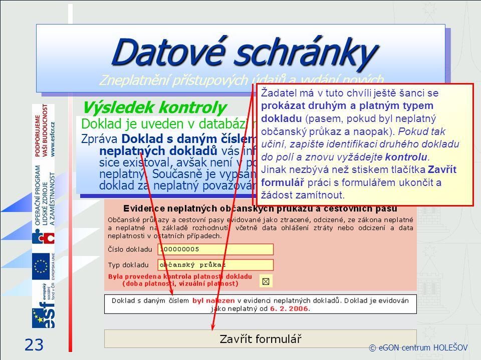 Doklad je uveden v databázi neplatných dokladů Zpráva Doklad s daným číslem byl nalezen v evidenci neplatných dokladů vás informuje, že doklad zadanéh