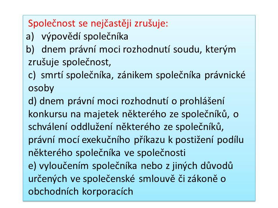 KOMANDITNÍ SPOLEČNOST k.s.