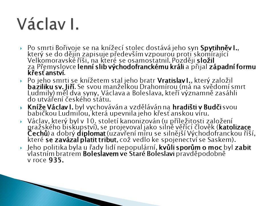 Zpodobnění českého knížete Václava I.