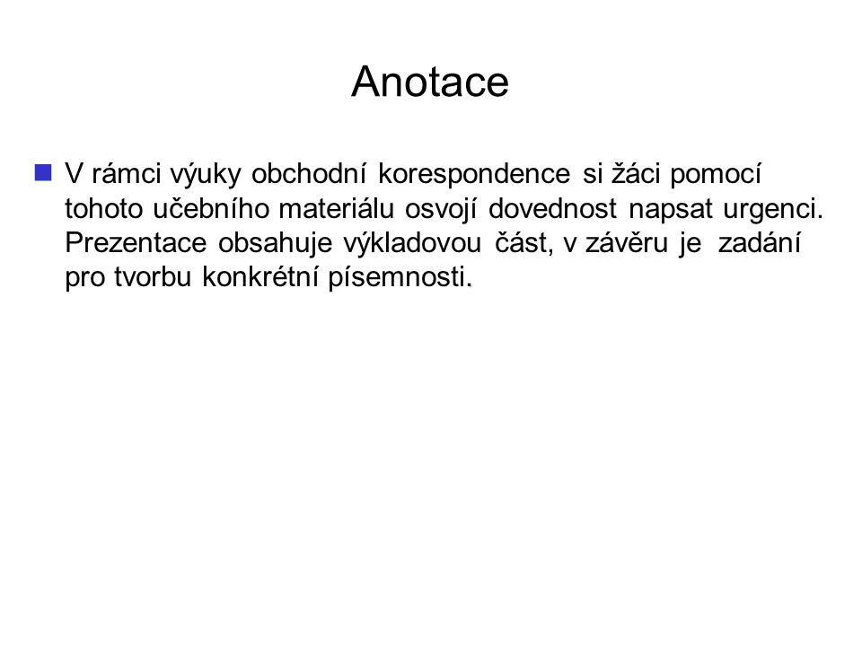 Anotace.