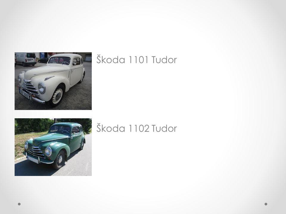 Popis vozu 1101 Tudor Podvozek o Podvozek je tvořen páteřovým rámem s nosníkem z bezešvé ocelové roury o Nápravy jsou tvořeny nezávislými výkyvnými polonápravami o Přední náprava je řiditelná, zavěšení kol je lichoběžníkové o Provozní brzda je hydraulické jednookruhová, s bubnovými brzdami na všech čtyřech kolech