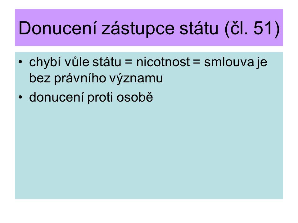 Korupce zástupce státu (čl.