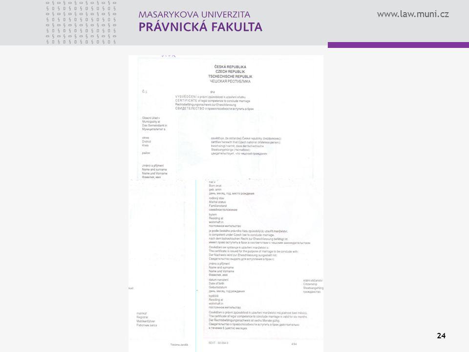 www.law.muni.cz 24