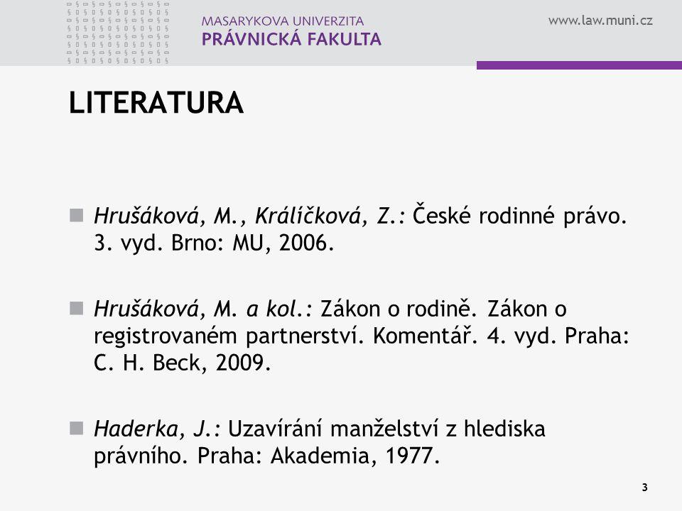 www.law.muni.cz VYBRANÉ STATISTICKÉ ÚDAJE (www.czso.cz ke dni 16. 1. 2012)www.czso.cz 4