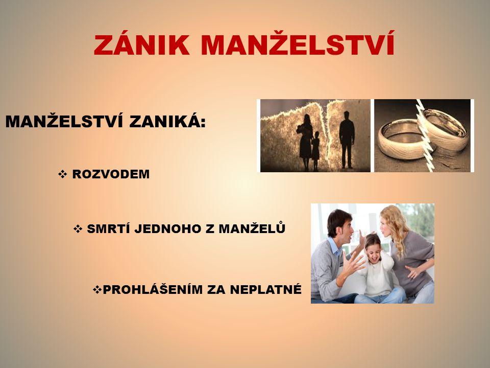ZDROJ Česká Republika.Zákon: Zákon o rodině. In: §94/1963Sb.