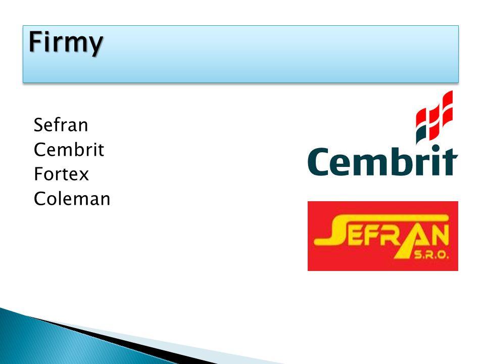 Sefran Cembrit Fortex Coleman FirmyFirmy