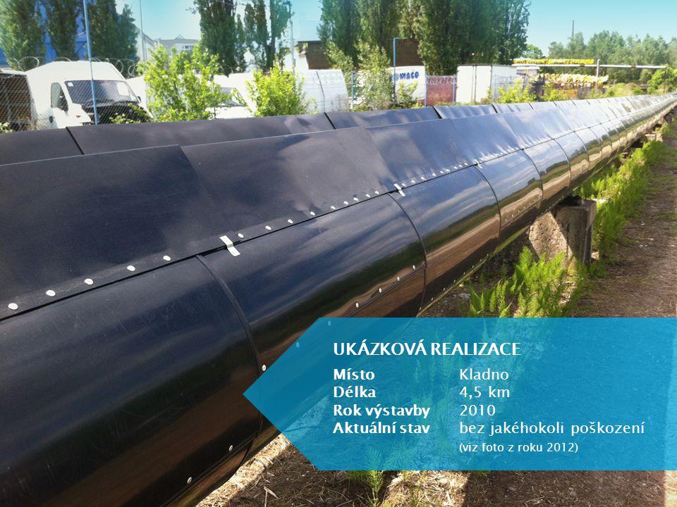 UKÁZKOVÁ REALIZACE MístoKladno Délka4,5 km Rok výstavby2010 Aktuální stavbez jakéhokoli poškození (viz foto z roku 2012)