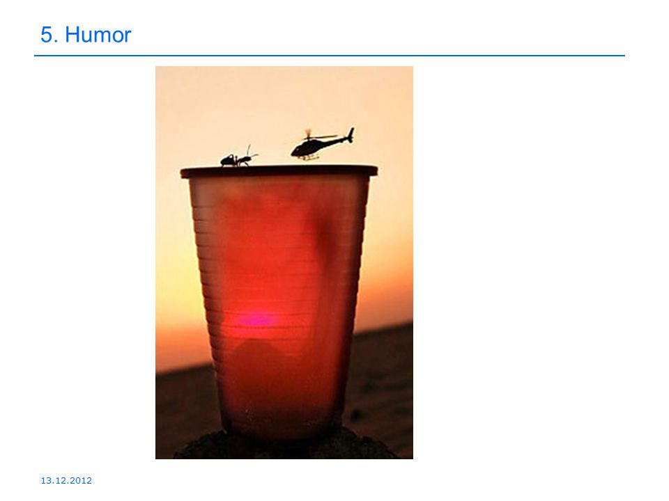 13.12.2012 5. Humor