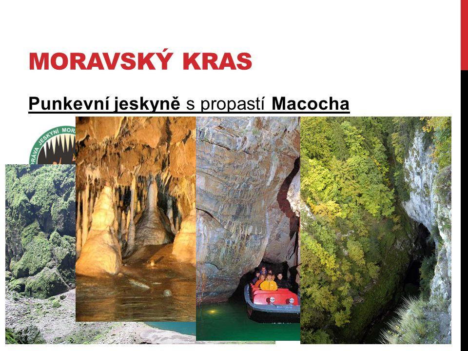 MORAVSKÝ KRAS Punkevní jeskyně s propastí Macocha