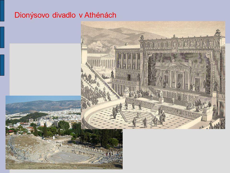 Půdorys divadla v Efesu Rekonstrukce řeckého divadla v italské Segestě