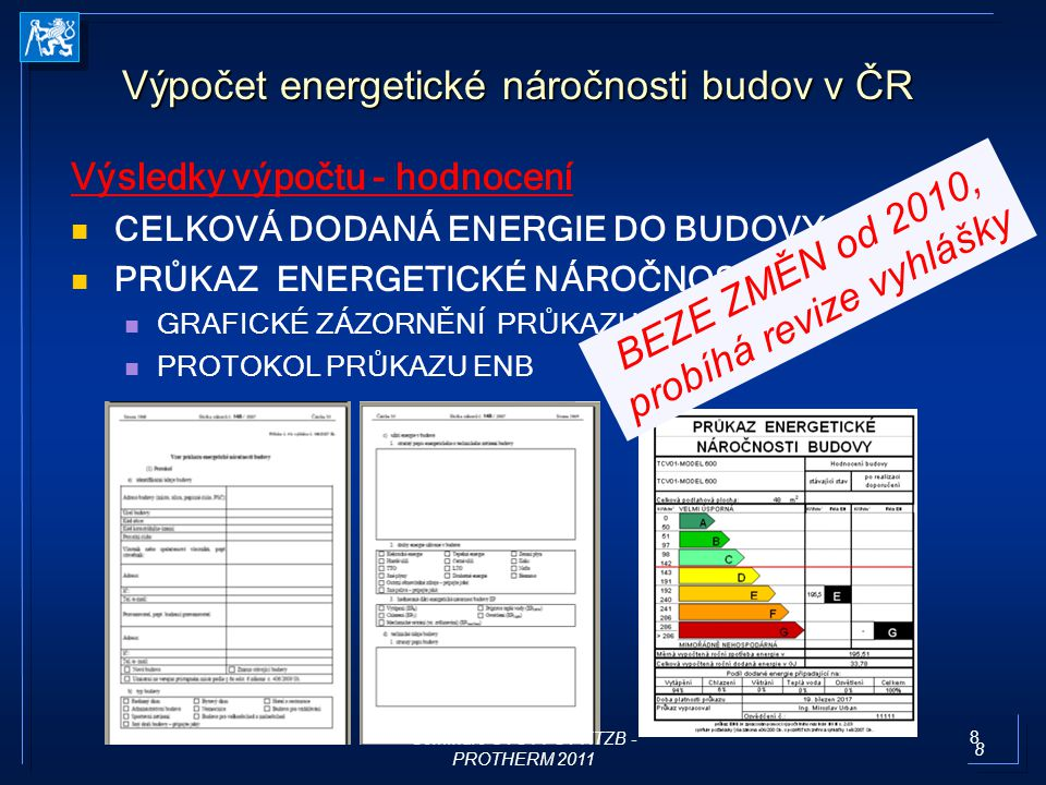 19 ČSN EN 15459 Využitelné pro: Využitelné pro: zvážení ekonomické realizovatelnosti možných úspor energie v budovách; zvážení ekonomické realizovatelnosti možných úspor energie v budovách; porovnání různých řešení možných úspor energie v budovách (např.