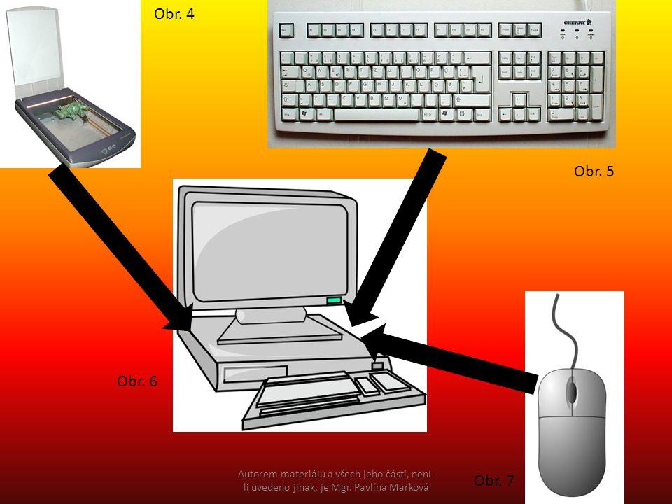 Následující obrázky zařaď do patřících sloupců Vstupní zařízeníVýstupní zařízení Obr.