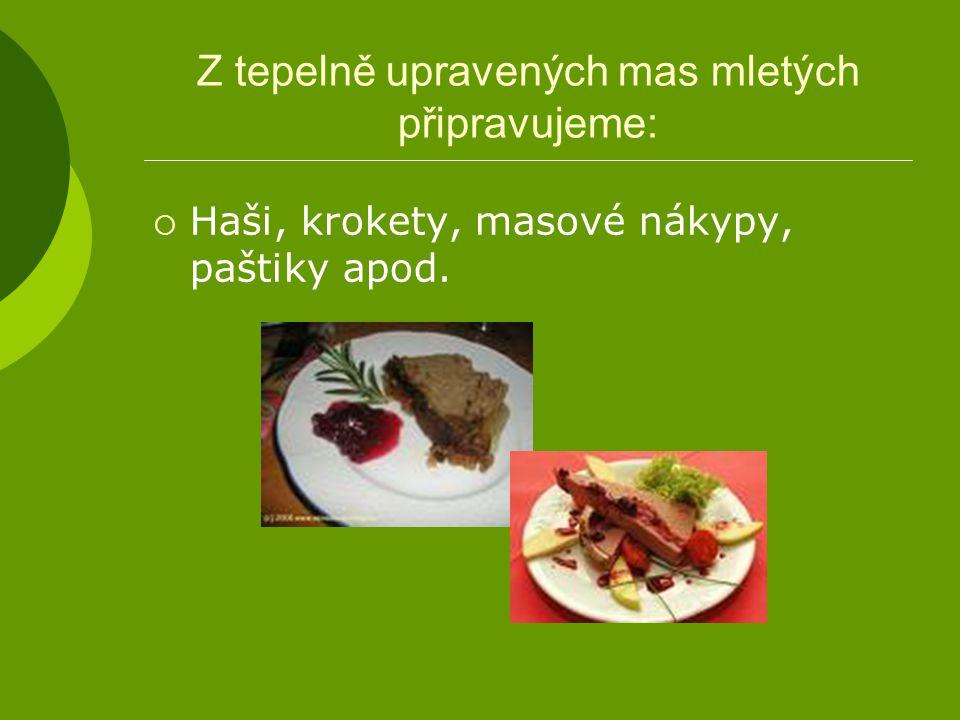 Plněné papriky  Hovězí a vepřové maso jemně umeleme, přidáme vejce, sůl, pepř, strouhanku, jemně nakrájenou cibuli a pečlivě promícháme.