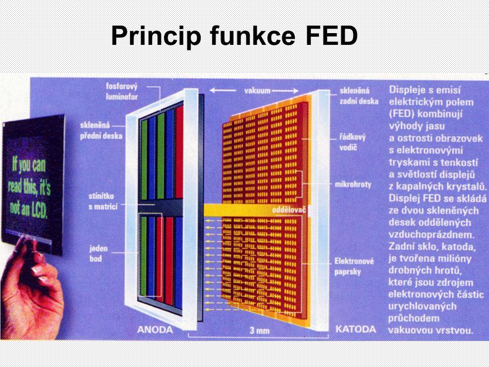 Princip funkce FED