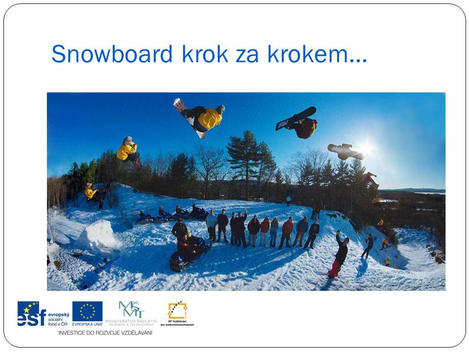 Snowboard krok za krokem…