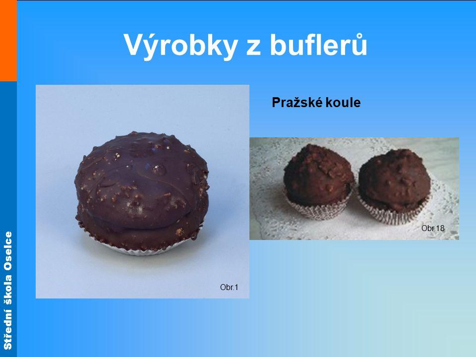 Střední škola Oselce Výrobky z buflerů Obr.1 Obr.18 Pražské koule
