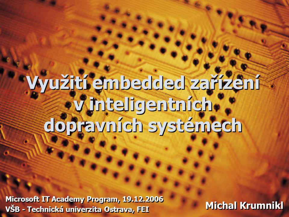 Embedded systém jednoúčelový systém, ve kterém je řídicí počítač zcela zabudován do zařízení, které ovládá