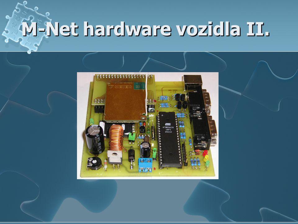 M-Net hardware vozidla II.
