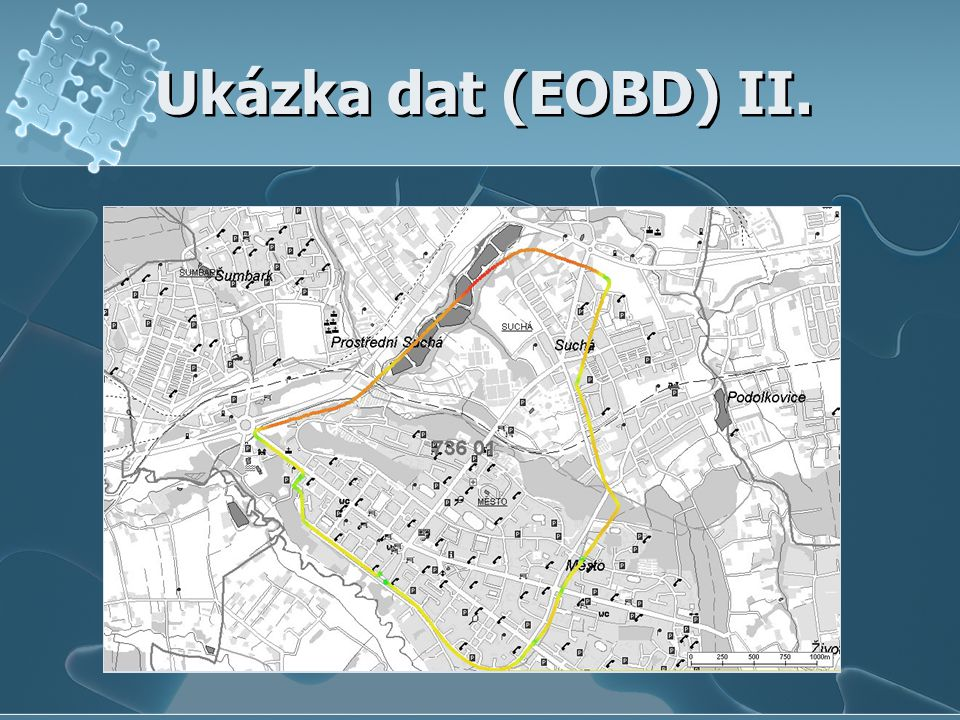 Ukázka dat (EOBD) II.