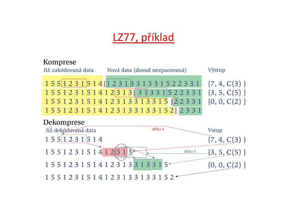 LZ77, příklad