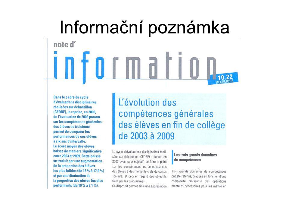 Informační poznámka