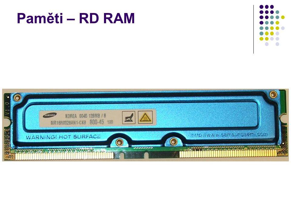 Paměti – RD RAM