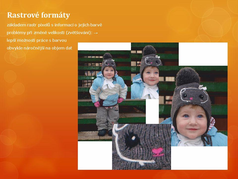 JPEG - Fraktální komprese skupina Joint Photographic Experts Group metoda ztrátové komprese založena na tzv.