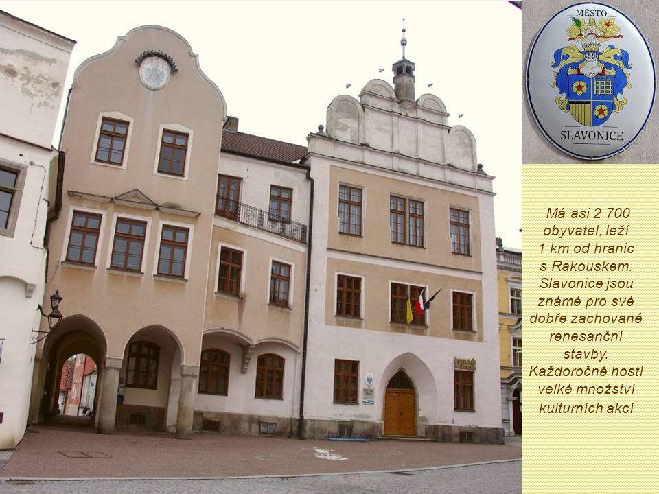 Městečko na česko-moravsko-rakouském pomezí