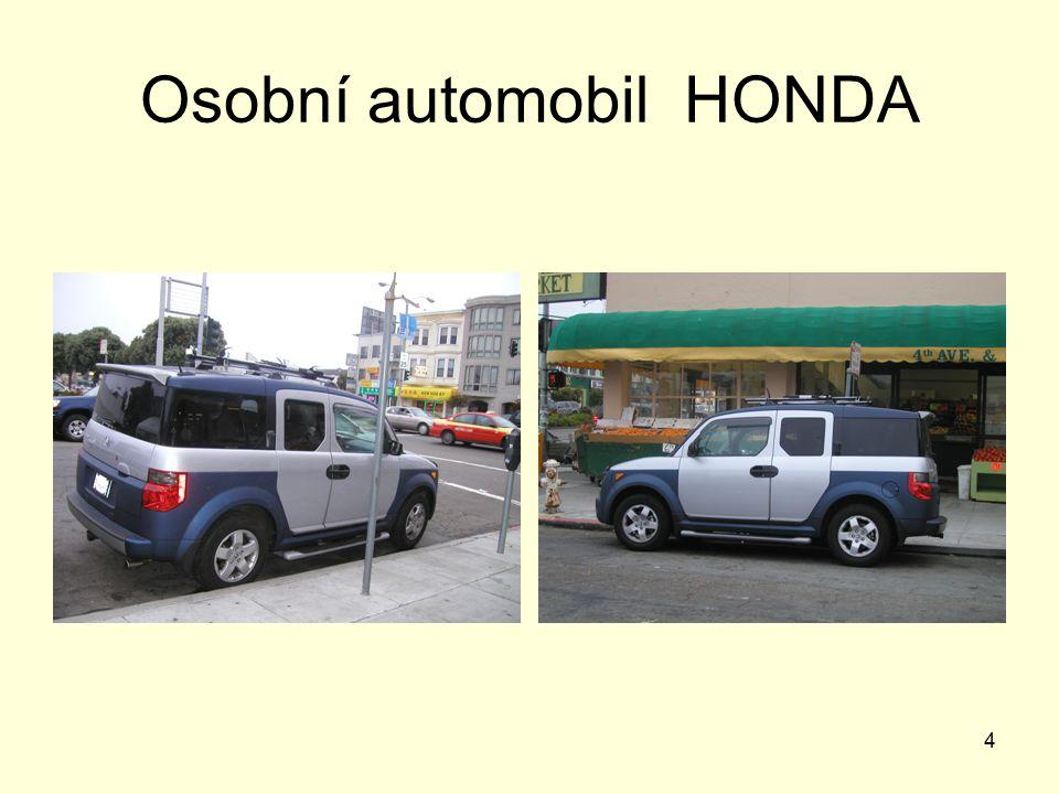 4 Osobní automobil HONDA