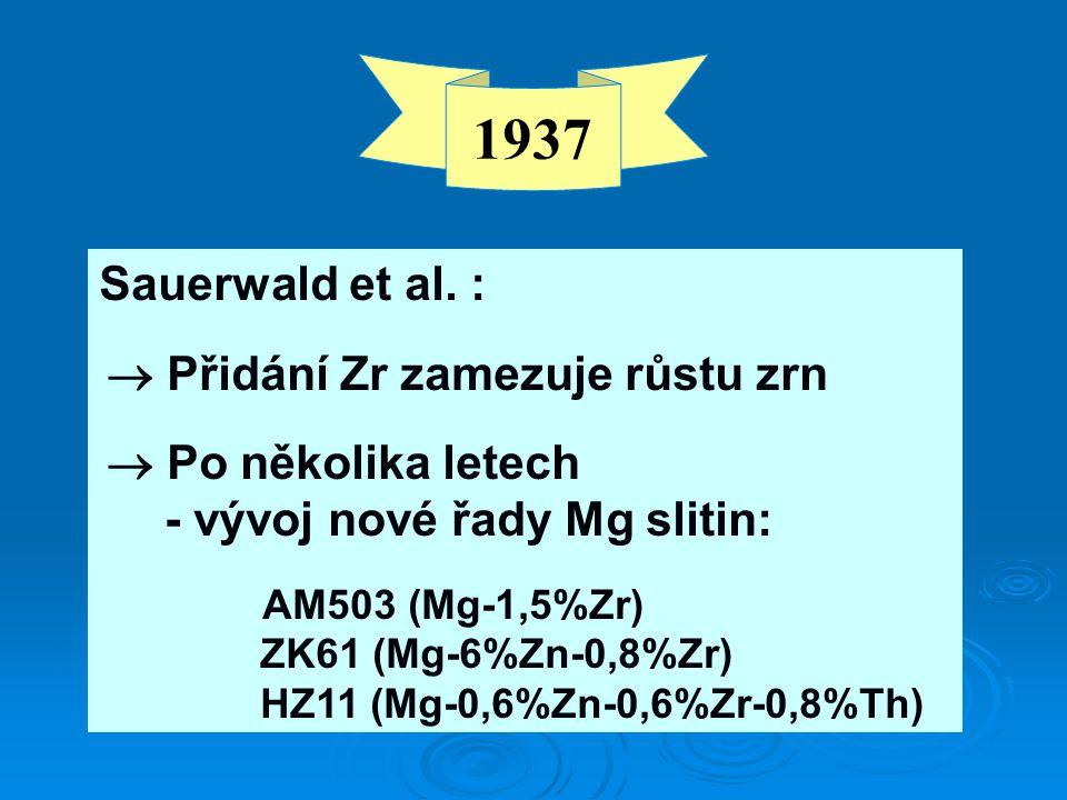 1937 Sauerwald et al.