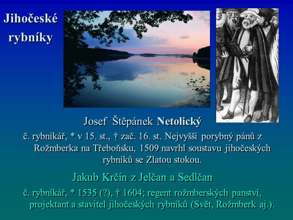 Jihočeské rybníky Jihočeské rybníky Josef Štěpánek Netolický č.