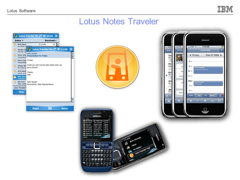 Lotus Software Lotus Notes Traveler