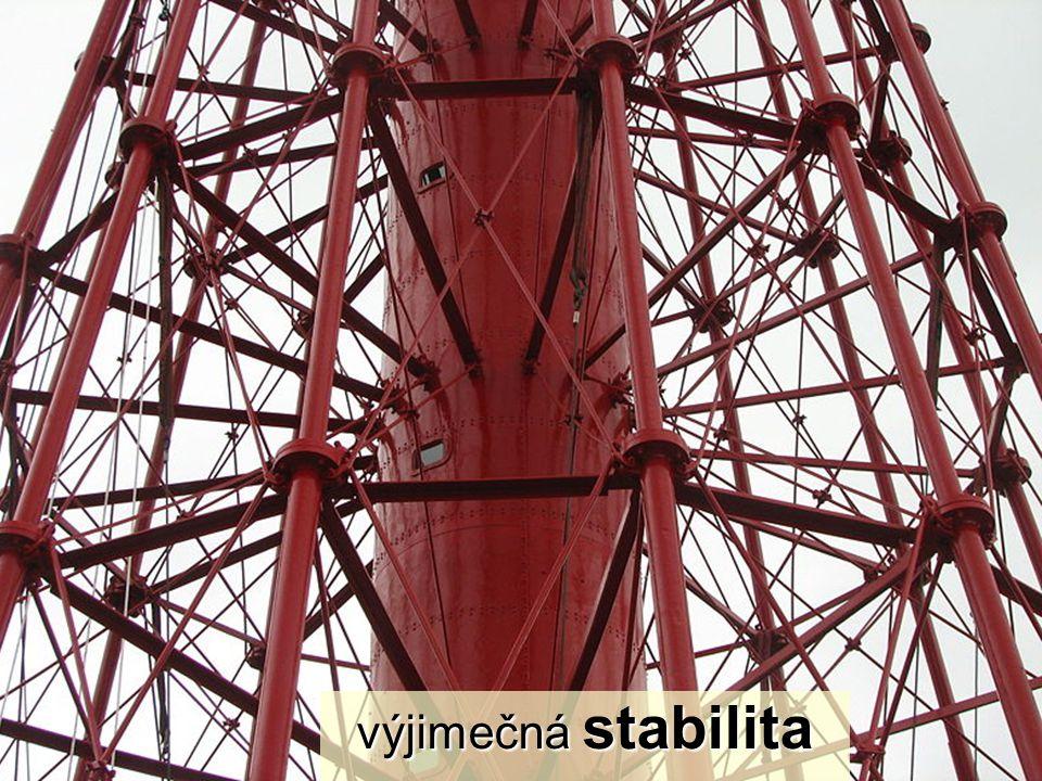 výjimečná stabilita