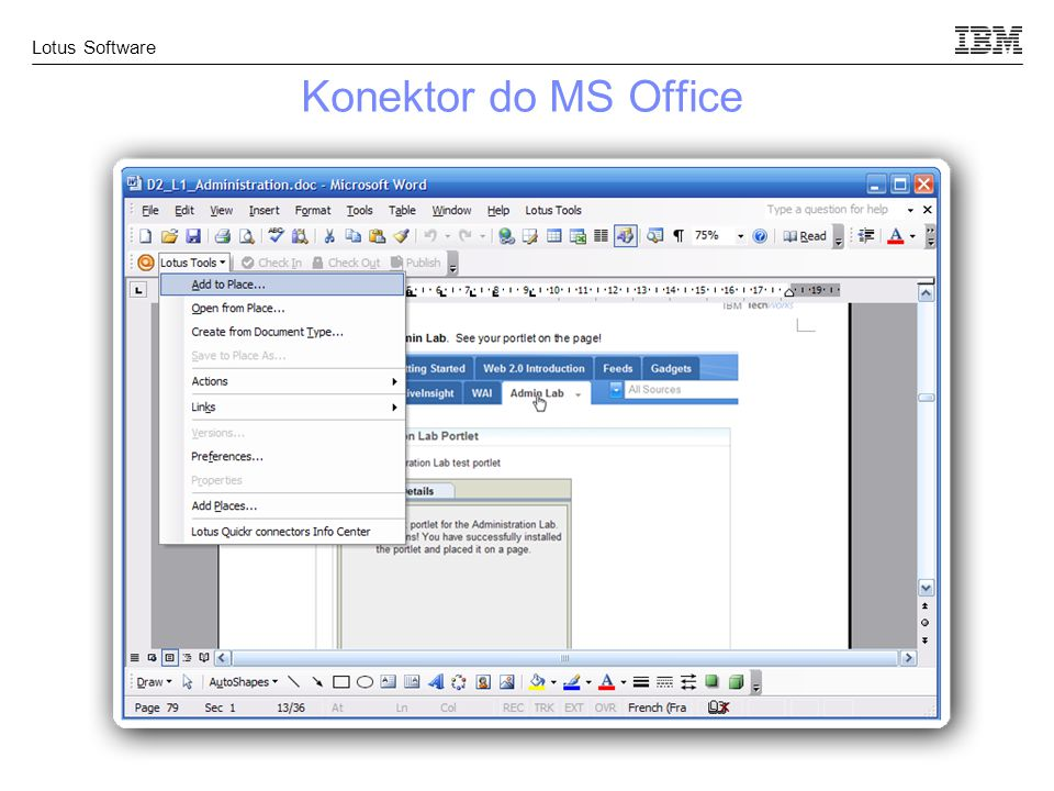 Konektor do MS Office