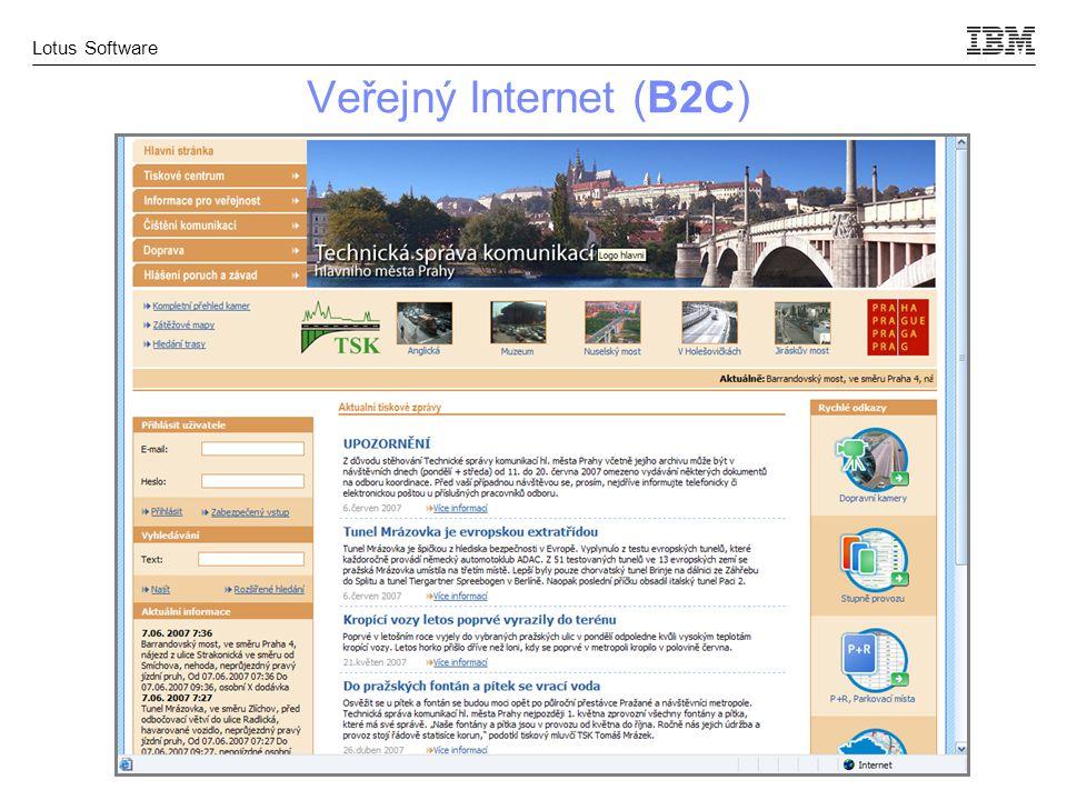 Veřejný Internet (B2C)