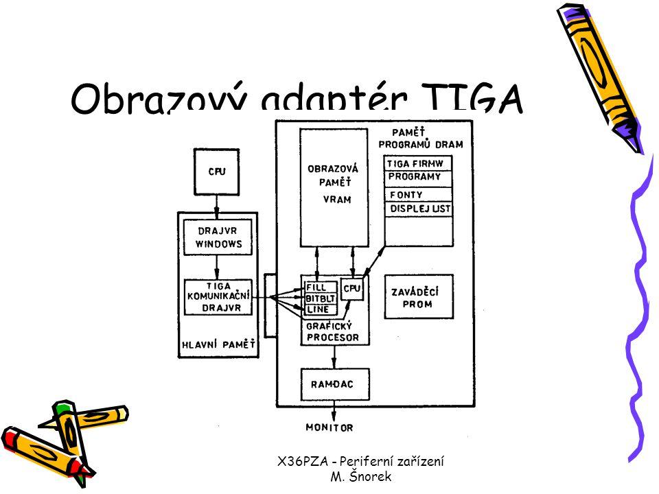 X36PZA - Periferní zařízení M. Šnorek Obrazový adaptér 8514/A