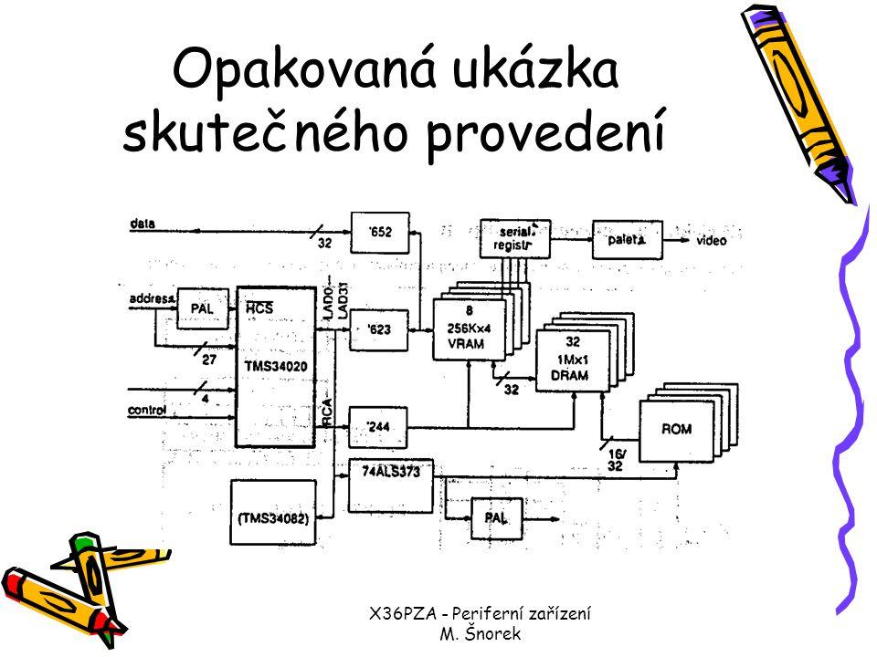 X36PZA - Periferní zařízení M. Šnorek Obrazový adaptér TIGA