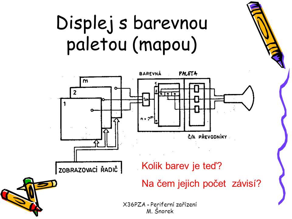 X36PZA - Periferní zařízení M.