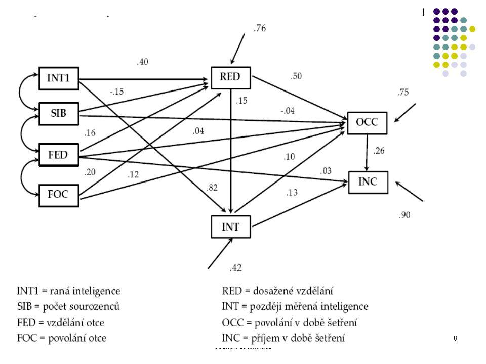 Ke kořenům sociálně psychologického modelu sociální stratifikace 8