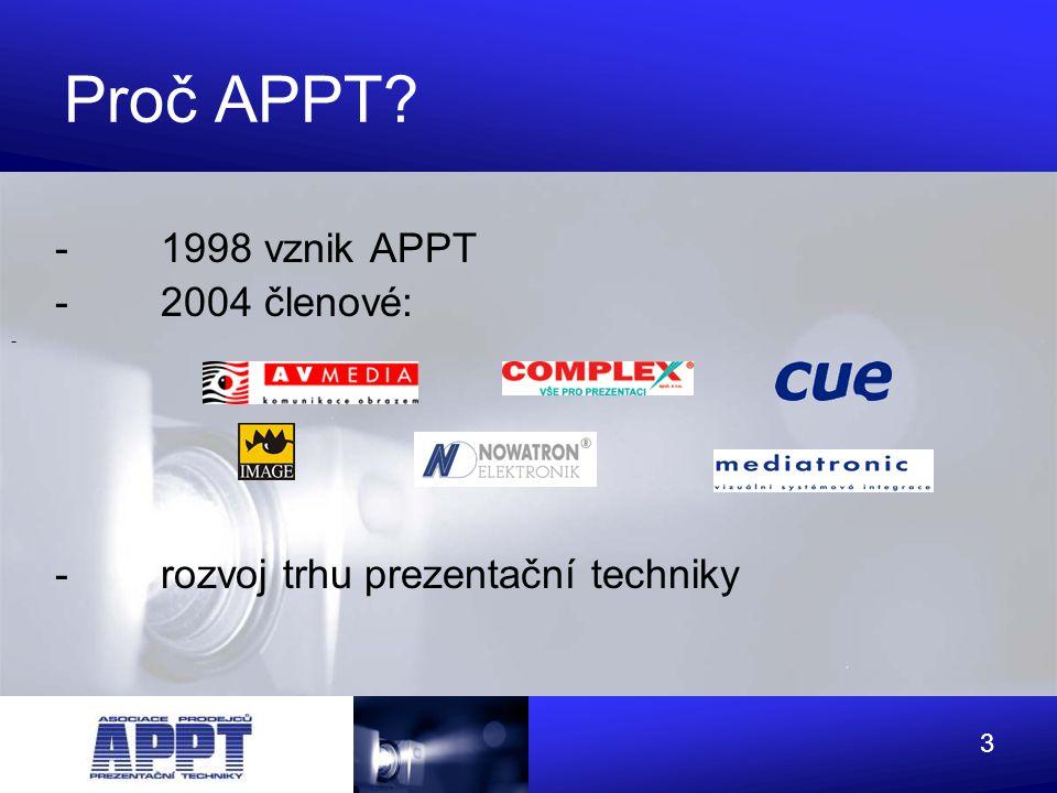 4 Proč APPT ? - Kvalita služeb