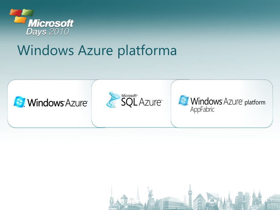 Windows Azure platforma