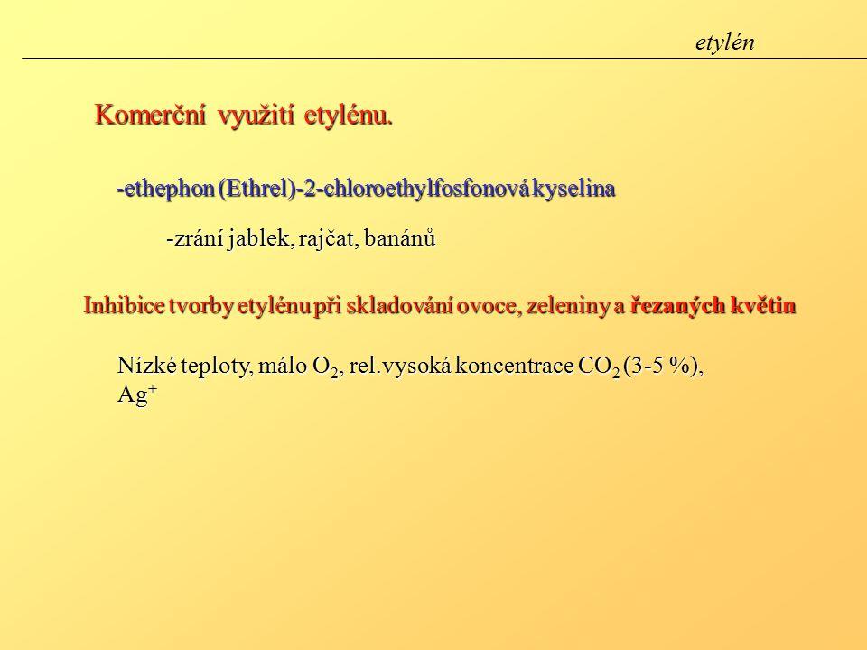 Komerční využití etylénu.