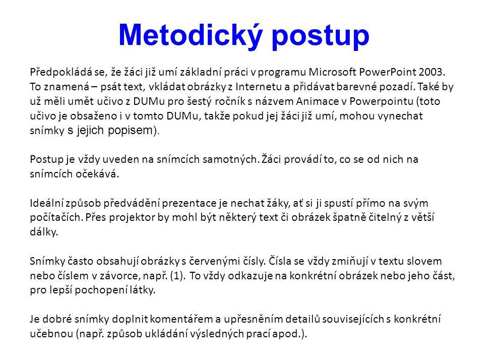 PowerPoint - animace Vytvořit vlastní prezentaci v tomto programu už umíme.