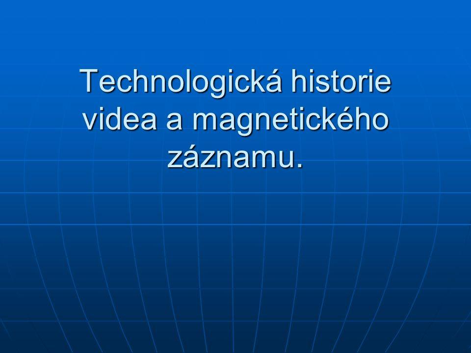 Dva hlavní videoformáty