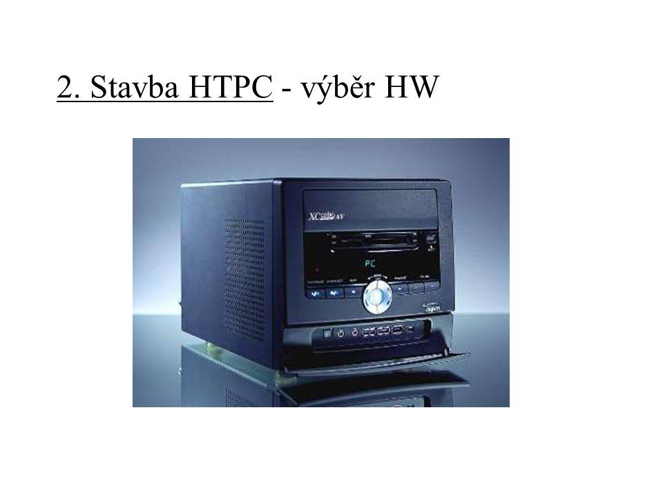 2. Stavba HTPC - úpravy HW - ovládání