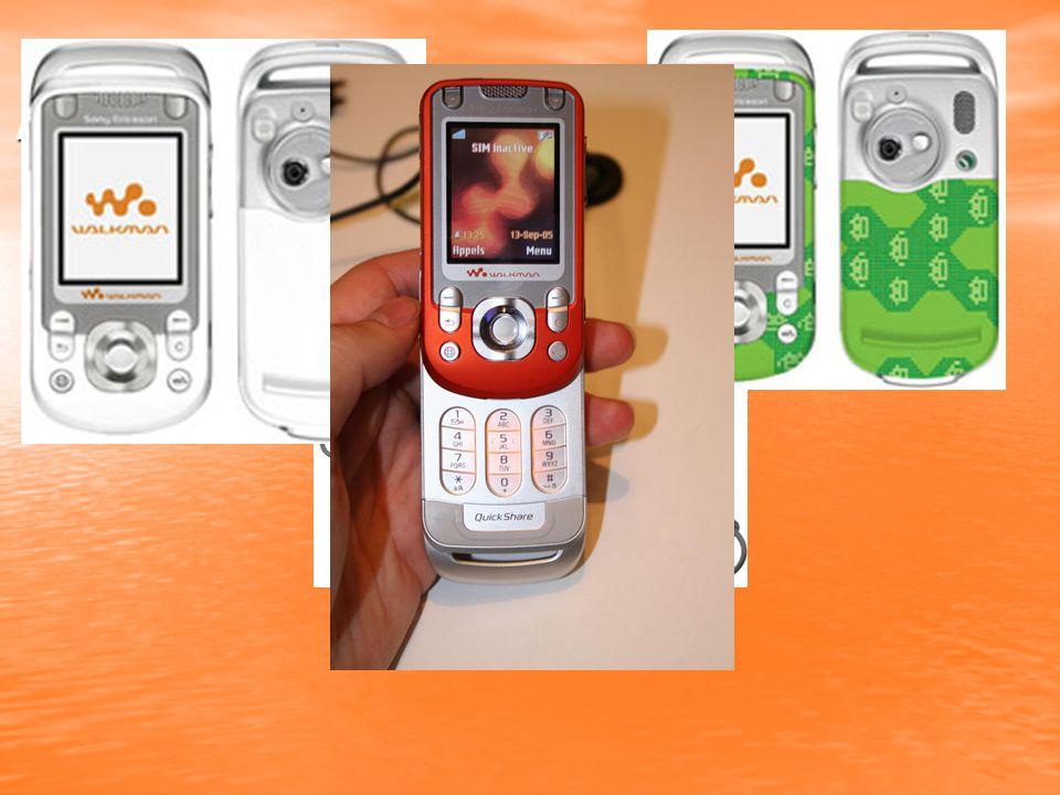 Novější telefony řady Walkman