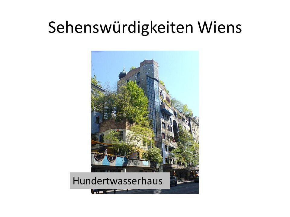 Sehenswürdigkeiten Wiens Hundertwasserhaus