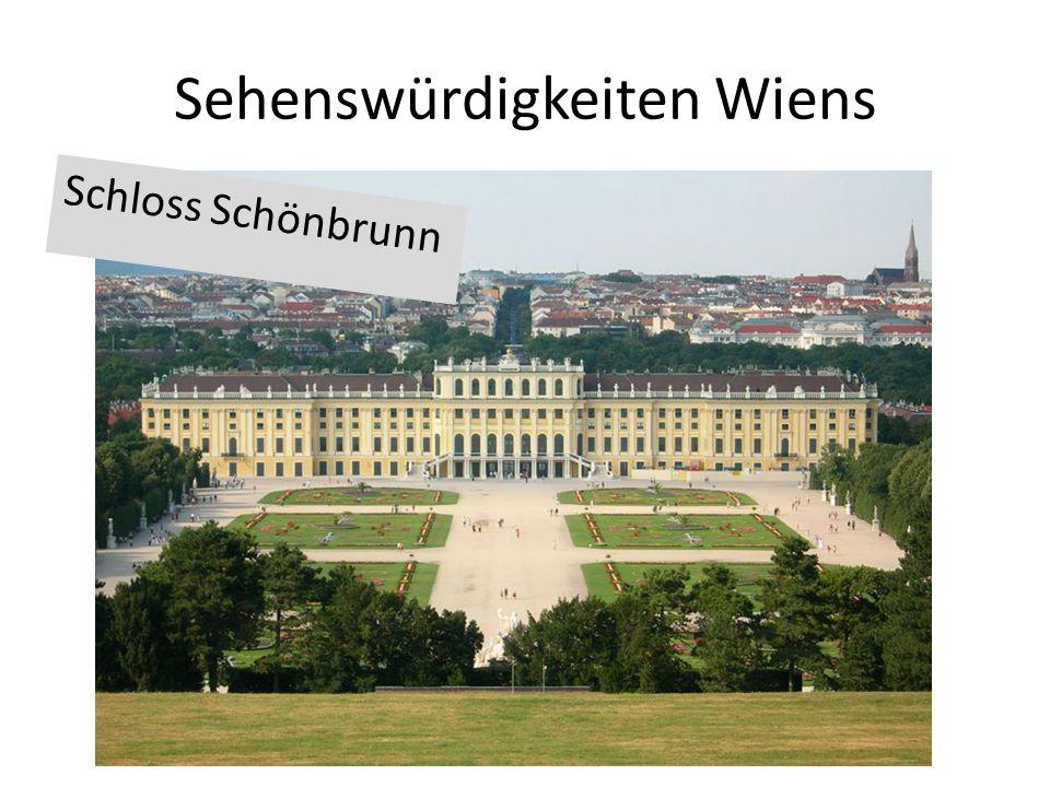 Sehenswürdigkeiten Wiens Schloss Schönbrunn